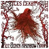LES LEKIN-All Black Rainbow Moon (white)